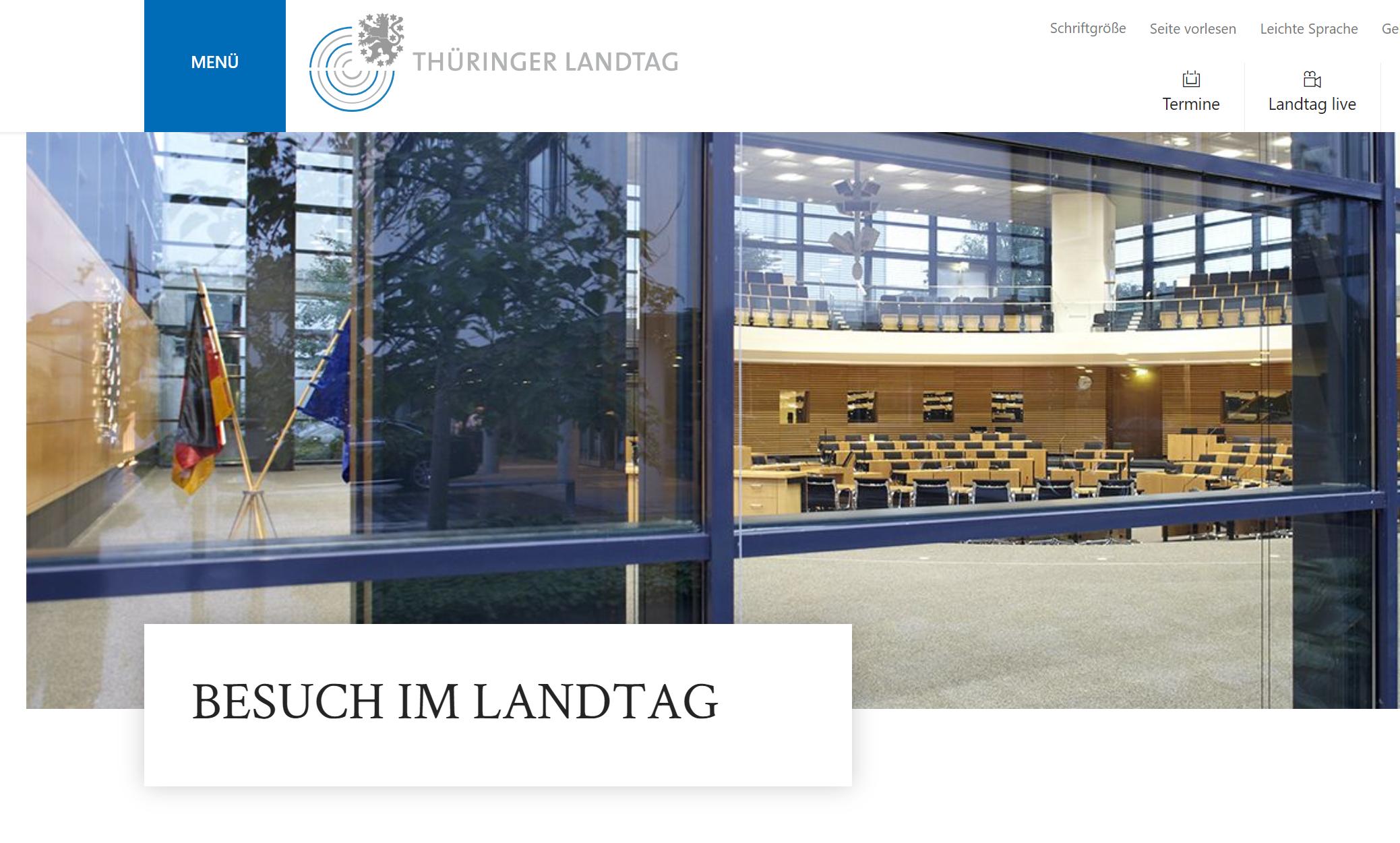 Mafia-Untersuchungsausschuss Landtag ThüringenErfurt