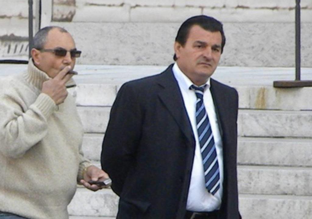 Nicolino Grande Aracri (rechts)